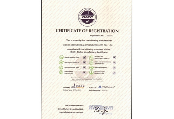 GMC Global Certificate