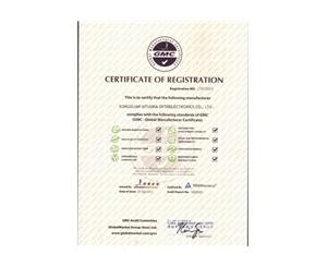 GMC环球证书