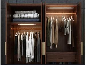你家的衣柜装了人体感应灯了吗?