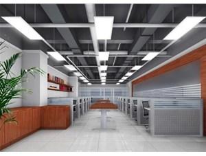 深圳市港中旅大厦办公室照明-面板灯案例