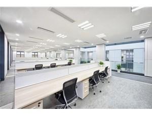东莞市民盈大厦写字楼照明-T8分体乐投网址案例