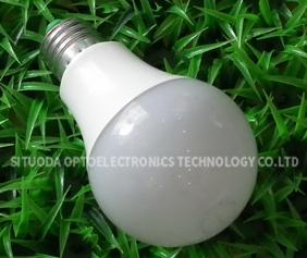 LED Aluminum Plastic Bulbs STD-QPLS-5W-C-05