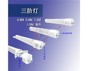 供应圆形三防灯20W(0.6米)