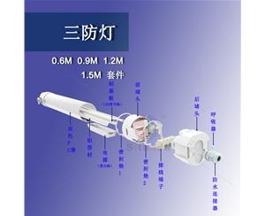 供应圆形三防灯40W(1.2米)