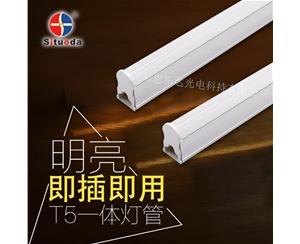 LED T5一体化乐投网址(0.3米4W)