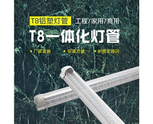 高透亮T8一体化乐投网址(0.6米9W)