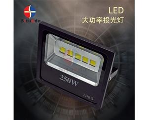 250W黑金钢款投光灯