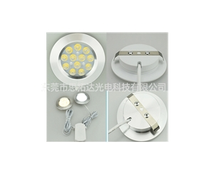 Spotlight led cabinet light - 3W embedded wine cabinet light - led caravan light - 12V closet light